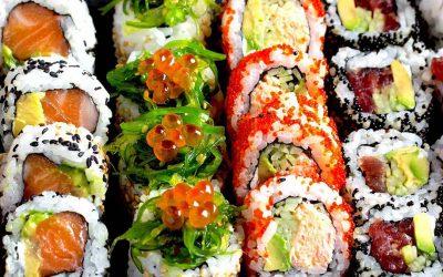 Kan man spise sushi, når man vil tabe sig?